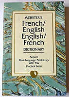 Webster's French/English English/French Dictionary